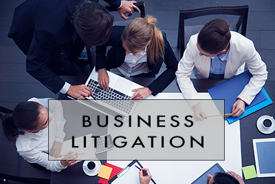 BUSINESS LITIGATION TITLE IMAGE